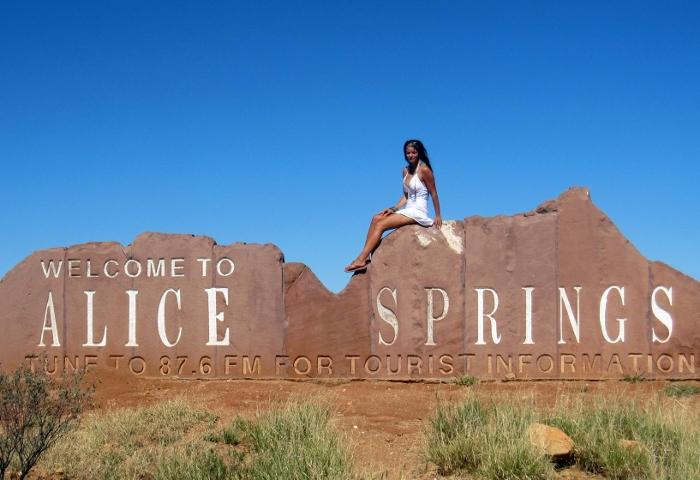 Outbackin pääkaupunki Alice Springs