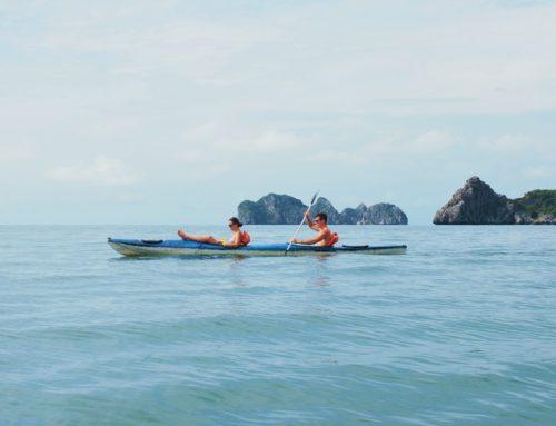 Halong Bayn Cat Ba ja Monkey Island