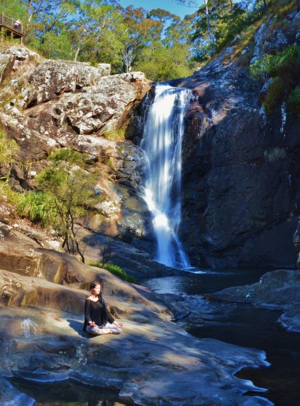 Vesiputous Brisbanen lähellä