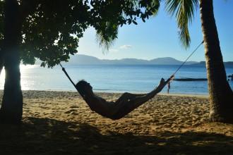Palawanin paratiisirannoilla Filippiineillä