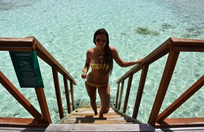 Bungalow veden yllä Malediivit