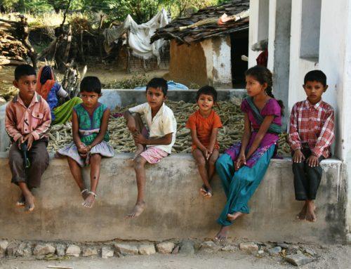 Intialaisessa kylässä