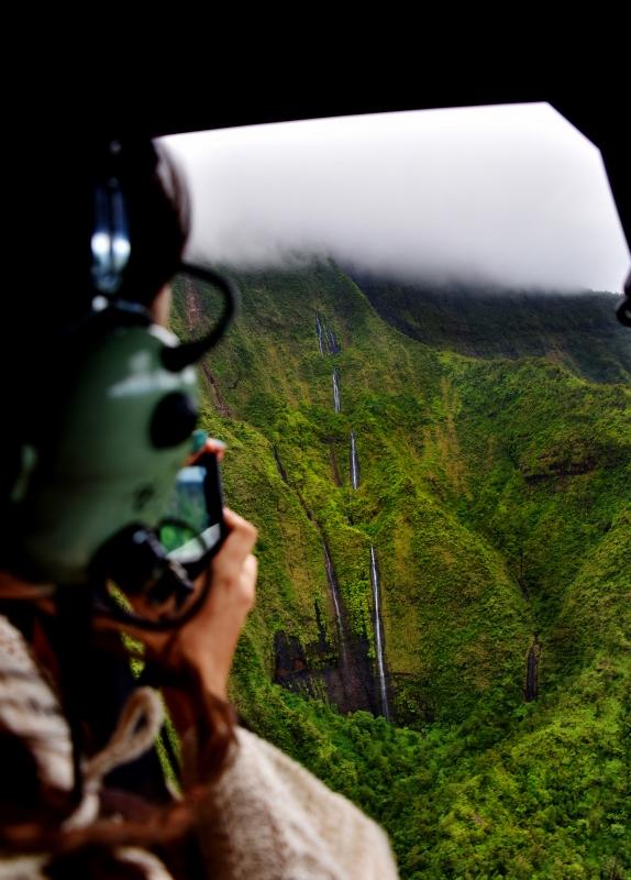Helikopterilento Kauai