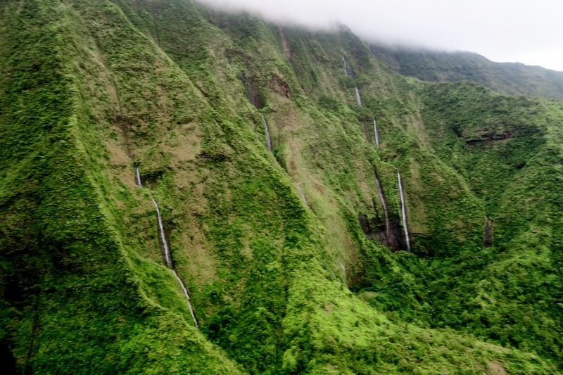 Vesiputouksia Kauai, Havaiji