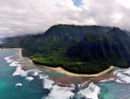 Helikopterilla ympäri Jurassic Park -saarta