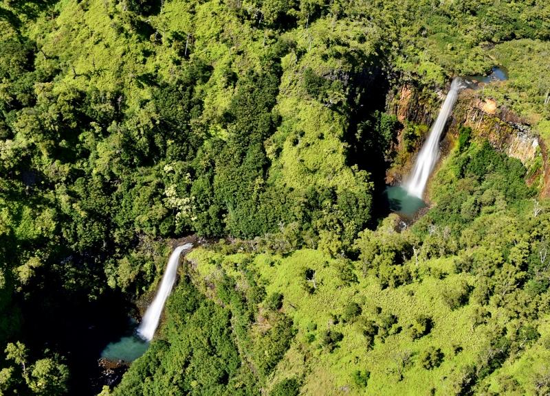 Kauain vesiputouksia