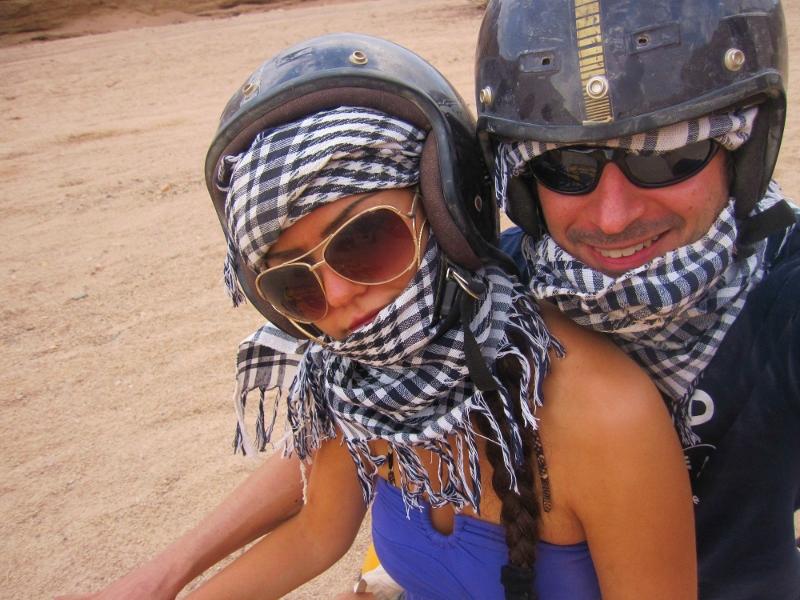 mönkijärallia Egyptissä