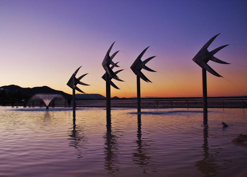 Cairnsin laguuni, Australia