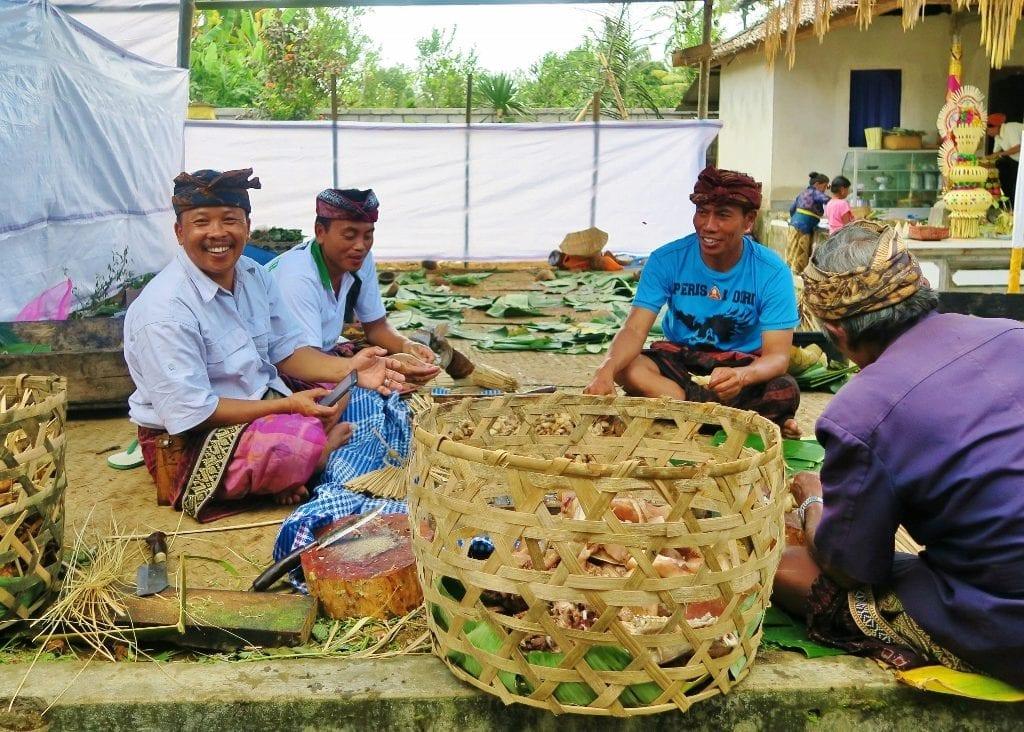 hääjärjestelyjä Balilla