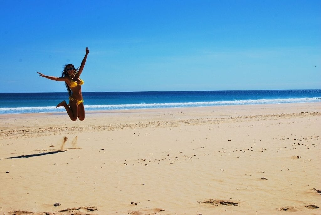 Rannalla Broomessa, Länsi-Australiassa