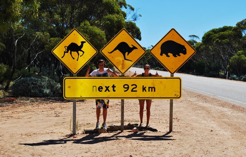 Eläinkyltti Australiassa