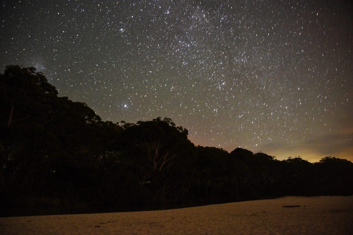 Tähtitaivas Jervis Bay, Australia