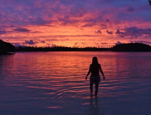 Taas yksi paratiisiranta Isle of Pinesilla