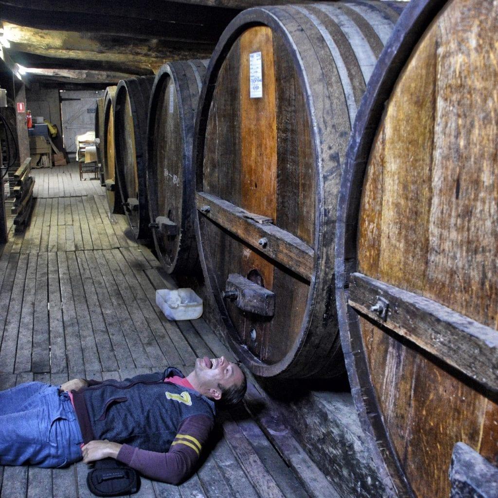 Grampiansin viinitilalla