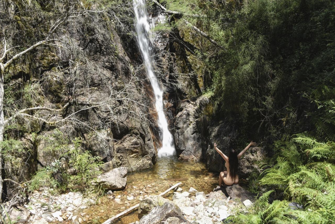 Australian Victorian High Countryn vesiputouksilla