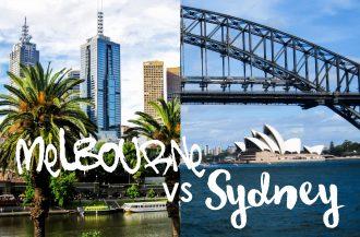 Melbourne vai Sydney