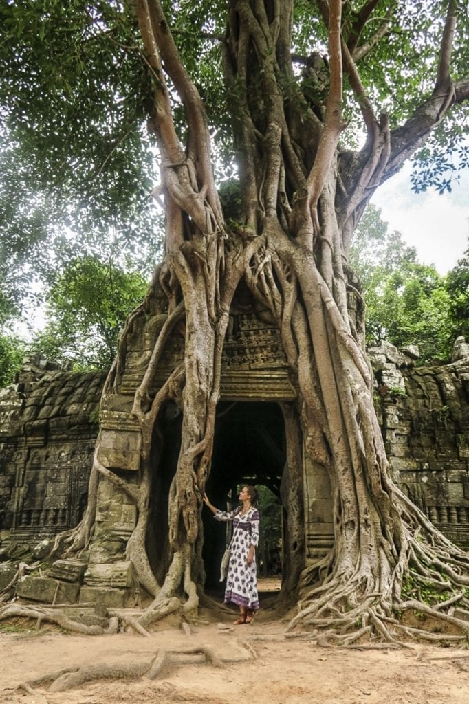 Ta Som, Angkor Watin temppelit