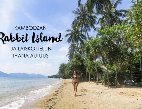 Kambodzan Rabbit Island ja laiskottelun ihana autuus