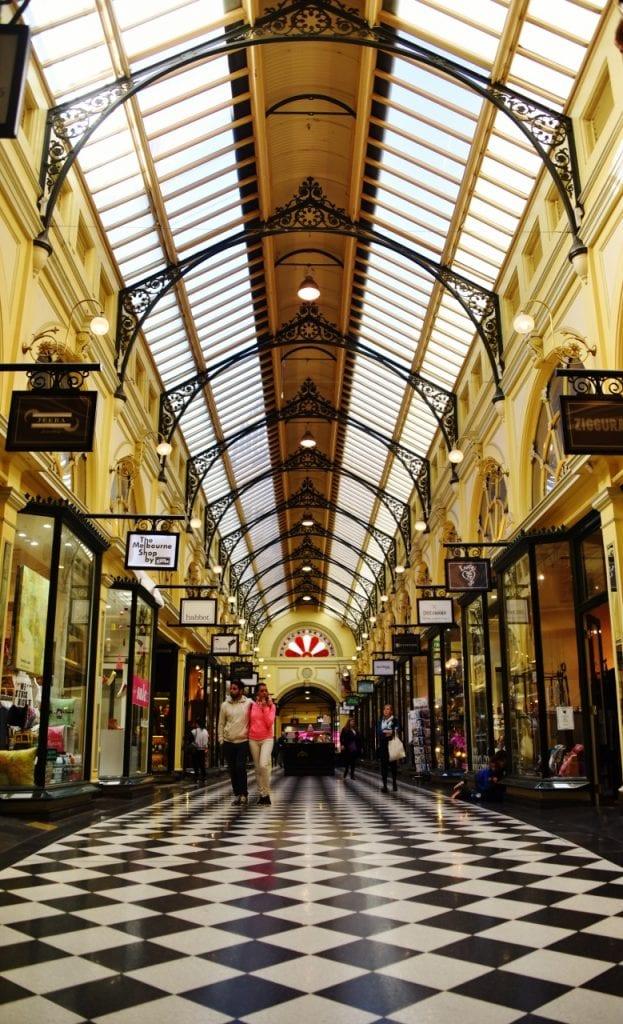 Melbournen vanhat arkadit
