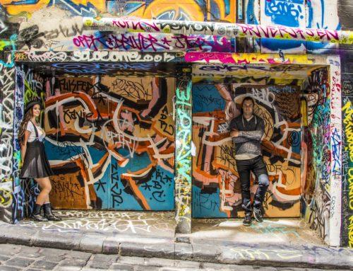 Melbournen street art ja mistä sitä löytää