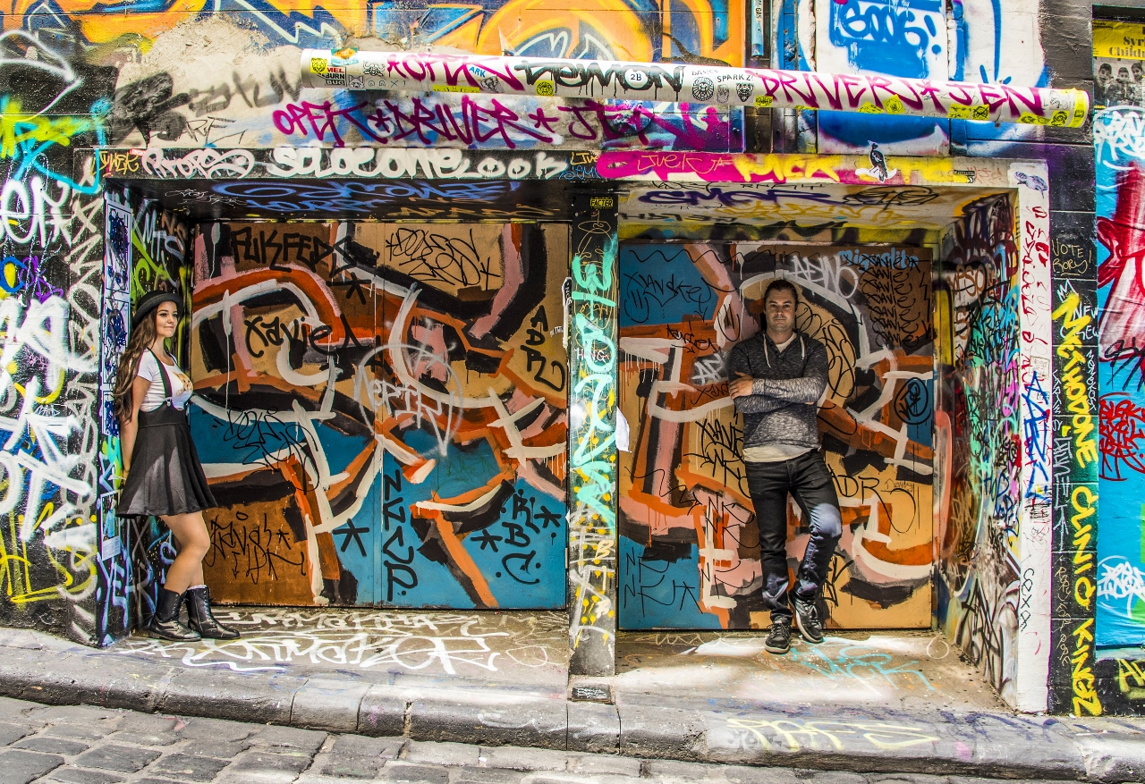 Melbourne katutaide