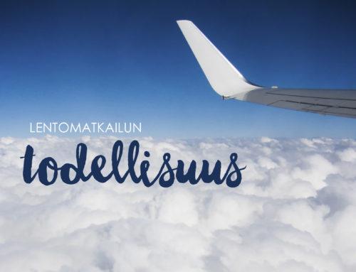 Lentomatkailun todellisuus