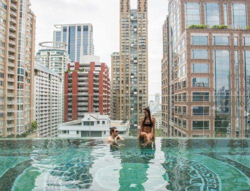Hääpäivän hemmotteluhetkiä loistohotellissa Bangkokissa