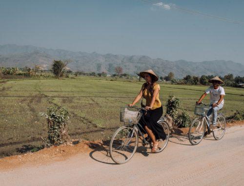 Ensikosketus Myanmariin Mandalayssä