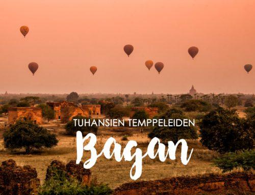 Tuhansien temppeleiden Bagan