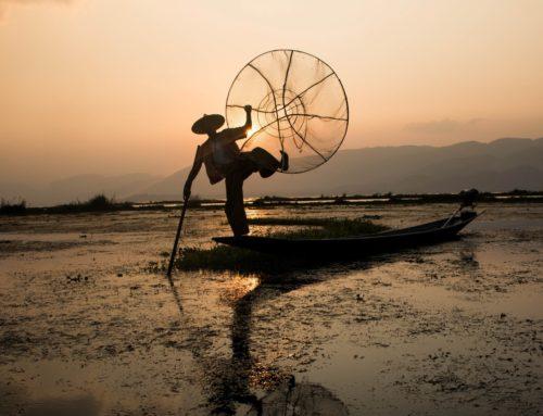 Myanmarin idyllinen Inle-järvi