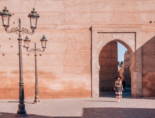 Mystinen tuhannen ja yhden yön Marrakesh