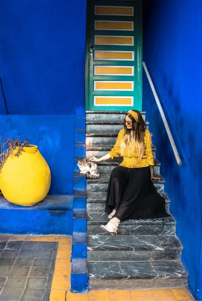 Marrakesh nahtavyydet - Jardin Majorelle