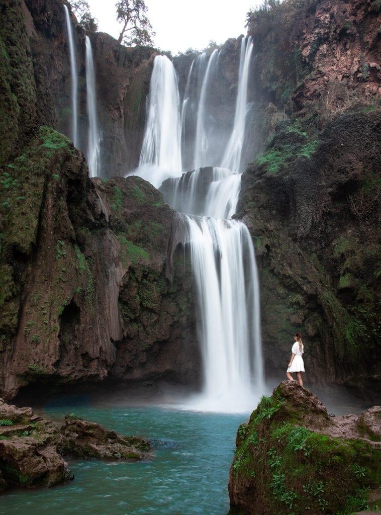 vesiputous marokossa