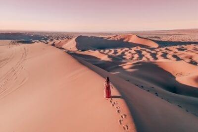 Saharan autiomaassa