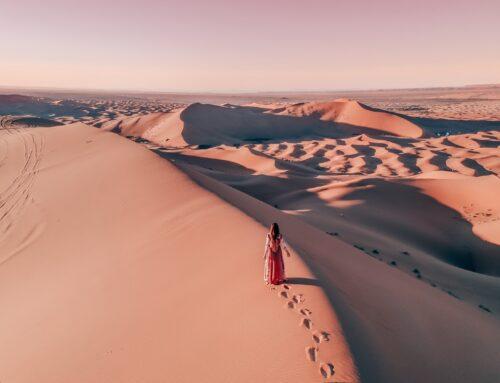 Marokon Saharan tähtitaivaan alla