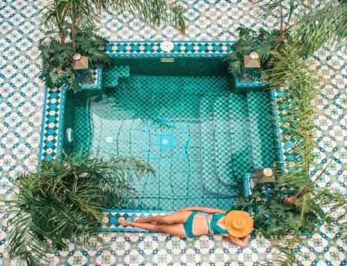 Riad BE on Marrakeshin söpöimpiä riad-majoituksia
