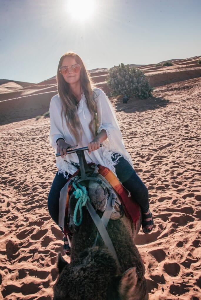 kameliratsastus Marokossa